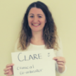 A photo of our staff member Clare