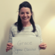 A photo of our staff member Grace