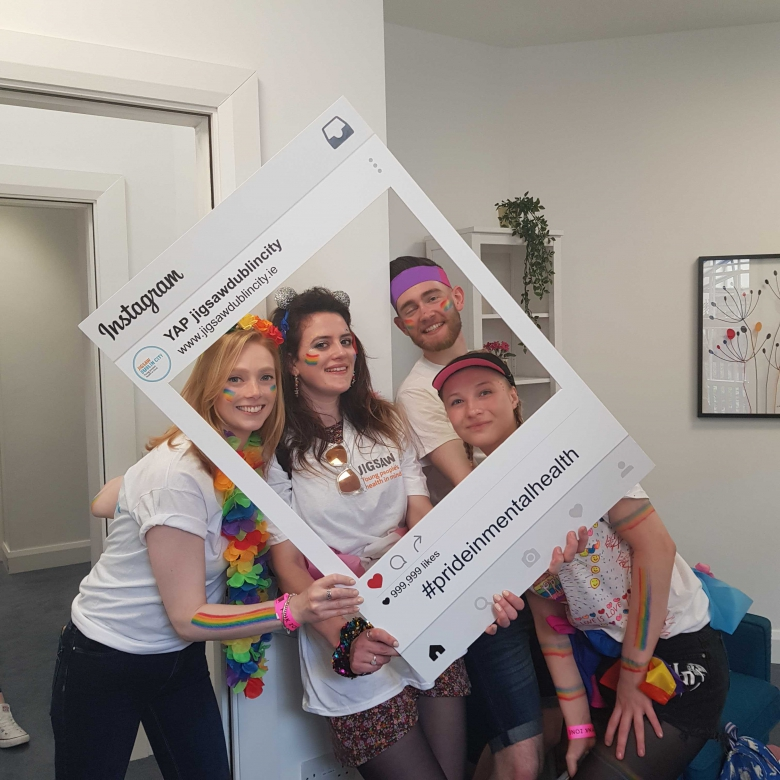 My first Pride with Jigsaw