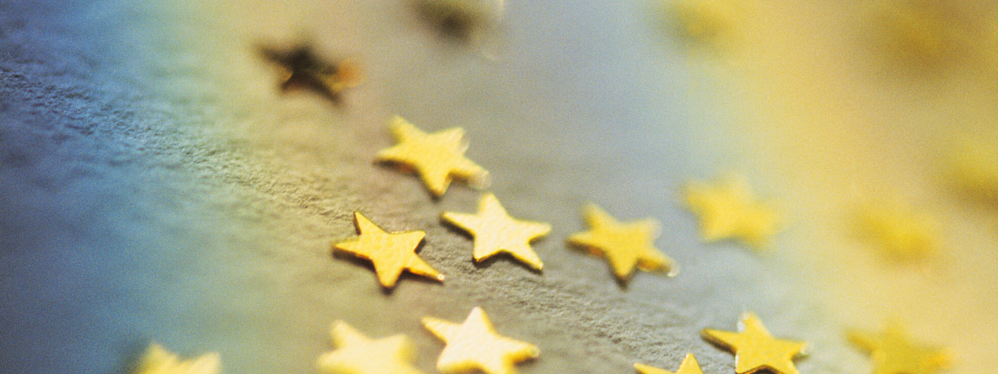 Close up photo of several gold stars