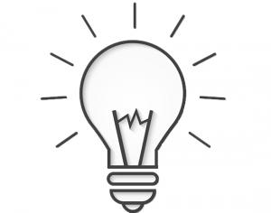 illustration of a bulb
