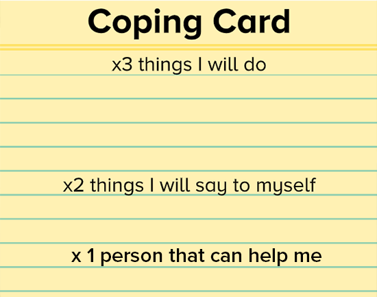 coping card